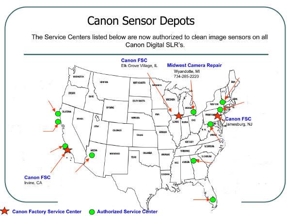 Midwest Camera Repair, Inc - Canon